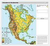 Stumme Karte Nordamerika.Ernst Klett Verlag Lehrwerk Online Terra Online Schulbücher