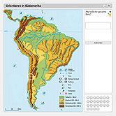 Stumme Karte Lateinamerika.Ernst Klett Verlag Lehrwerk Online Terra Online