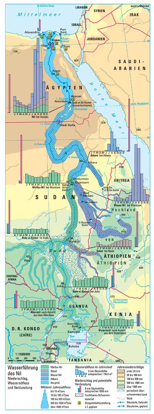 Karte ägypten Nil.Ernst Klett Verlag Lehrwerk Online Terra Ewg Online