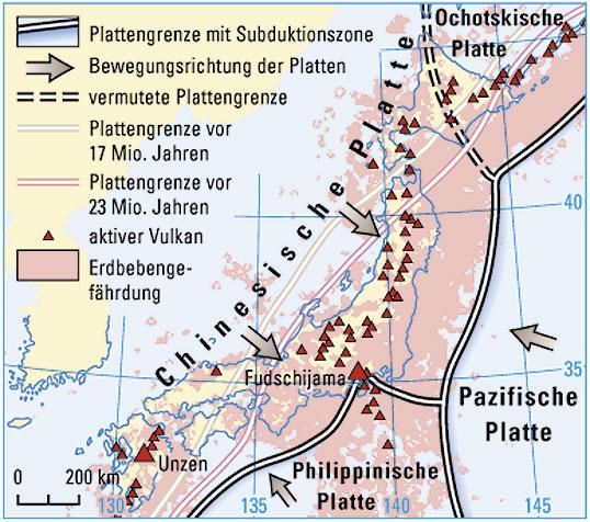 Japan Karte Physisch.Ernst Klett Verlag Lehrwerk Online Haack Weltatlas Online
