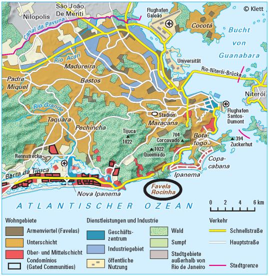 Rio De Janeiro Karte.Ernst Klett Verlag Lehrwerk Online Terra Online