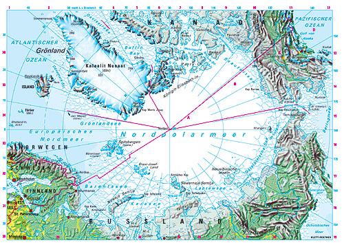 Nordpolarmeer Karte.Ernst Klett Verlag Lehrwerk Online Haack Weltatlas Online
