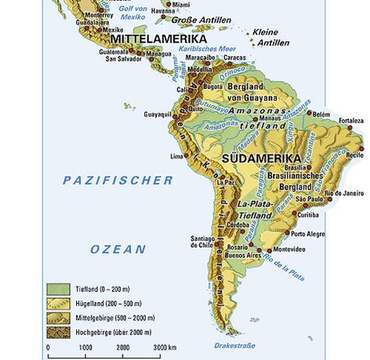 Lateinamerika Karte Gebirge.Ernst Klett Verlag Lehrwerk Online Haack Weltatlas Online
