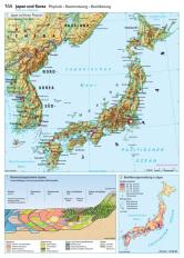 Japan Karte Physisch.Ernst Klett Verlag Lehrwerk Online Haack Weltatlas
